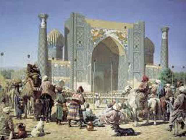 Samarkand. From Alexander to the Kushans