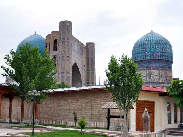 Samarkand. The fourteenth-twentietn centuries.