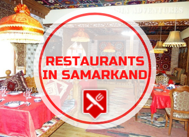 Restaurants in Samarkand