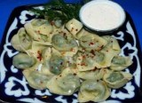 Dumplings With Greens