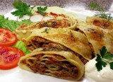 Khonim Pasta Roll With Meat